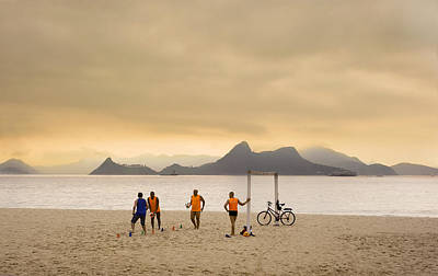 Photograph - Life Unfolds In Rio Iv by Bruno Amaral