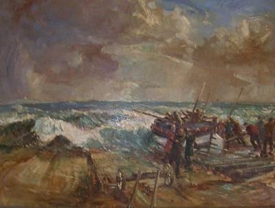 Lifeboat Launch Original