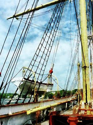 Photograph - Lifeboat by Susan Savad