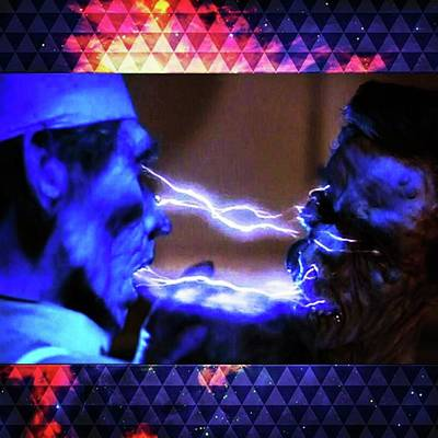 Photograph - lifeforce Is One Of The Epic by XPUNKWOLFMANX Jeff Padget