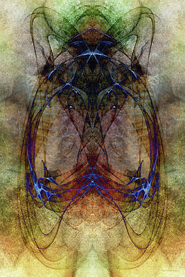 Digital Art - Lifeforce by WB Johnston
