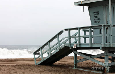 Photograph - Lifeguard Number Ten by John Rizzuto