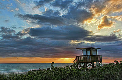 Photograph - Lifeguard Off Duty by HH Photography of Florida