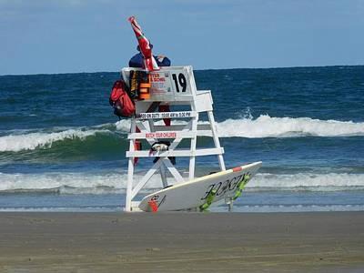 Rowing - Lifeguard on duty by Karissa Mazurek