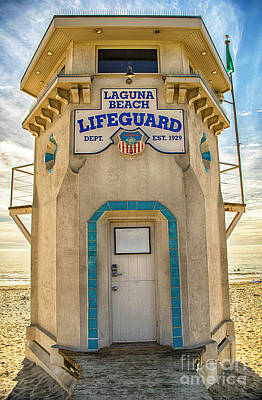 Comic Character Paintings - Lifeguard Protection by Mariola Bitner
