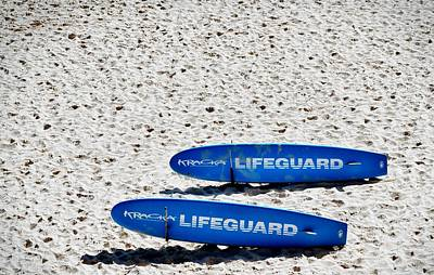 Photograph - Lifeguard by Sandy Taylor