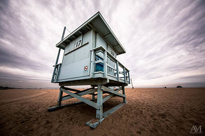 Tower Photograph - Lifeguard Stand by Andrew Mason