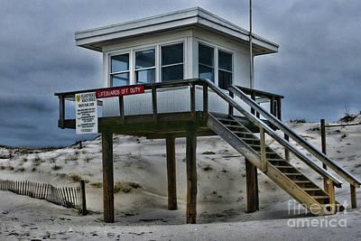Photograph - Lifeguard Station 2  by Paul Ward