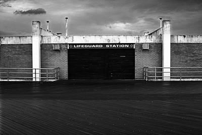 Lifeguard Station, Coney Island Art Print by Catherine Jones