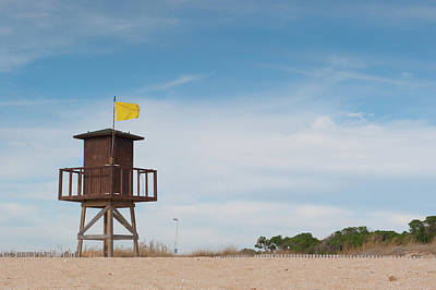 Photograph - Lifeguard Station IIi by Helen Northcott