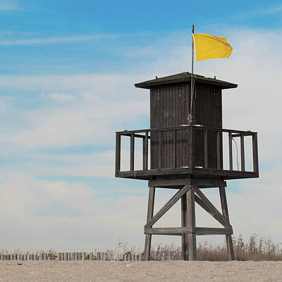 Photograph - Lifeguard Station Iv by Helen Northcott