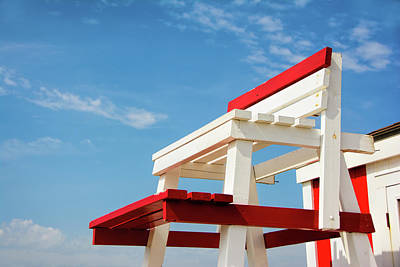 Photograph - Lifeguard Station by Marion McCristall