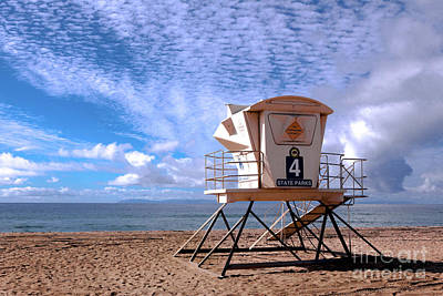 Photograph - Lifeguard Tower 4 by Kip Krause