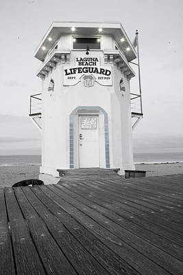 Lifeguard Tower Art Print by Eric Foltz