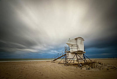 Lifeguard Tower Takeoff Art Print