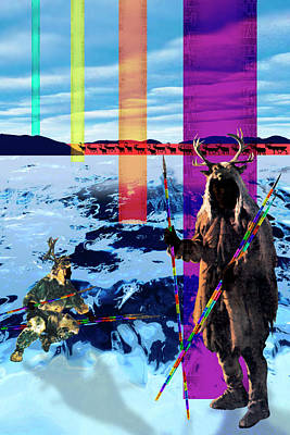 Gaia Digital Art - Lifelines by Mark Myers