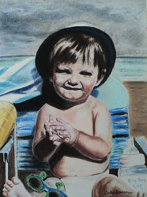 Drawing - Lifes A Beach by Carla Carson