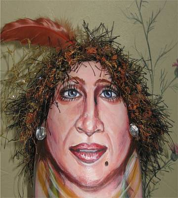 Drag Queen Mixed Media - Life's A Drag by Cathi Doherty