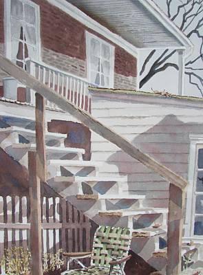 Painting - Life's Shadows by Tony Caviston