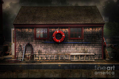Photograph - Lifesaver Shack by Craig J Satterlee