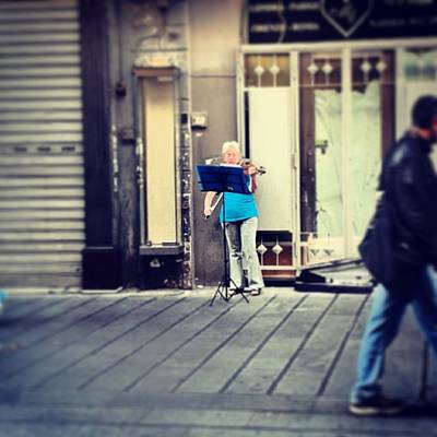 Music Photograph - #lifespentinmusic #music #violin by Francesco Zano