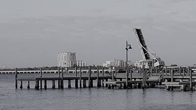 Bridge Photograph - Lift Bridge by Ric Schafer