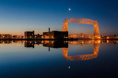 Lift Bridge Art Print by RC Pics