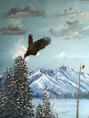 Painting - Lift Off by Al  Johannessen
