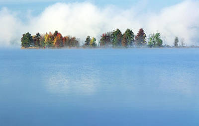 Jim Nelson Photograph - Lifting Fog by Jim Nelson
