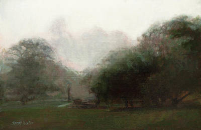 Painting - Lifting Fog by Sarah Yuster