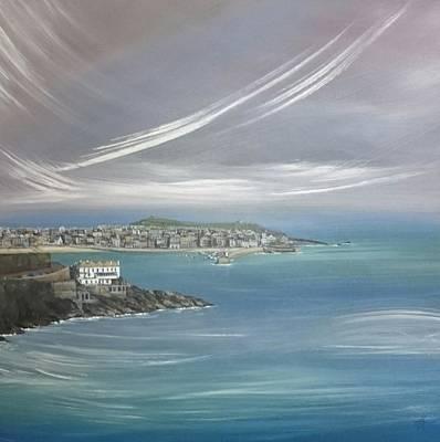 Painting - Lifting Fog, St.ives  by Keran Sunaski Gilmore