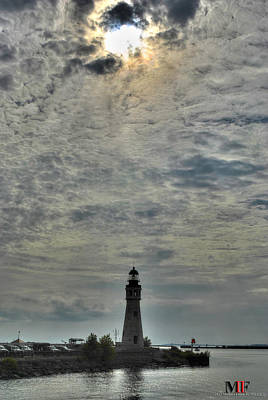 Photograph - Light Above The Light House by Michael Frank Jr