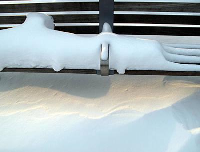 Snow Drifts Digital Art - Light After The Storm 2  by Lyle Crump