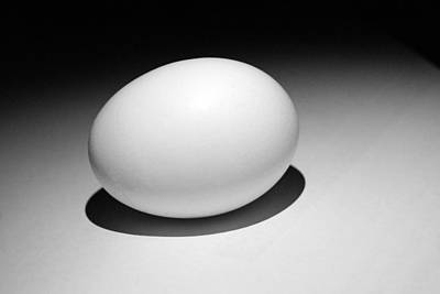 Photograph - Light And Egg 13 by Isam Awad