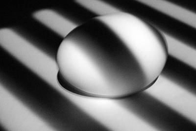 Photograph - Light And Egg 18 by Isam Awad