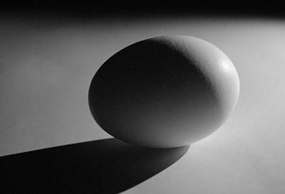 Photograph - Light And Egg 7 by Isam Awad