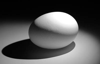 Photograph - Light And Egg 9 by Isam Awad
