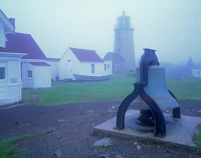 Photograph - Light And Fog Bell by Tom Daniel
