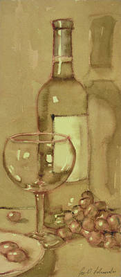 Painting - Light And Glass One by Joe Schneider