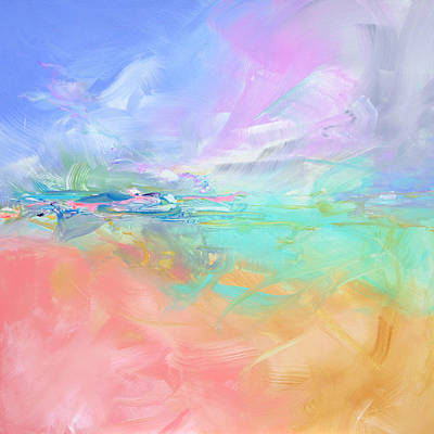 Light And Life-thinking Beach Original by Susan Card