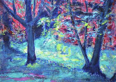 Painting - Light And Life by Usha Shantharam