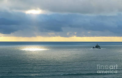 Photograph - Light And Lighthouse by Suzette Kallen