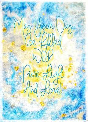 Light And Love Art Print