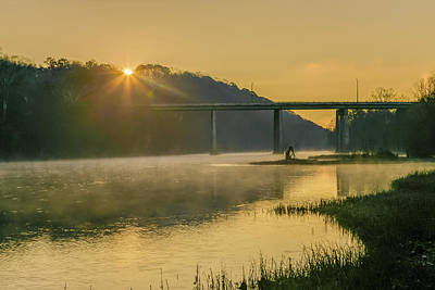 Photograph - Light And Mist by Tim Wilson