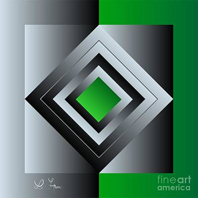 Digital Art - Light And Ojects 2 by Leo Symon