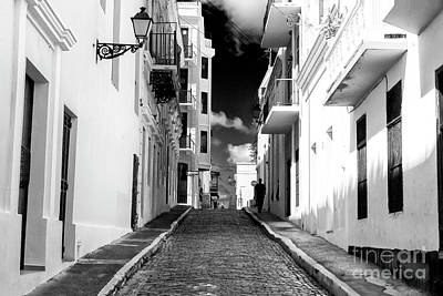 Photograph - Light And Shadow In Old San Juan by John Rizzuto
