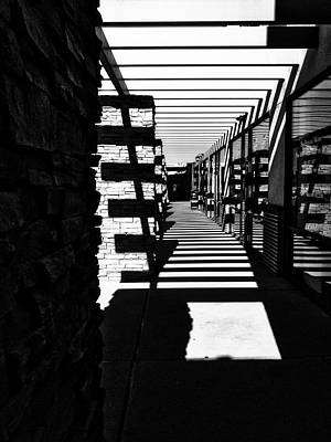 Photograph - Light And Shadow by Mark David Gerson