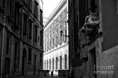 Photograph - Light And Shadows In Rome by John Rizzuto