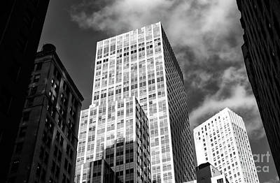 Photograph - Light And Shadows In The Naked City by John Rizzuto