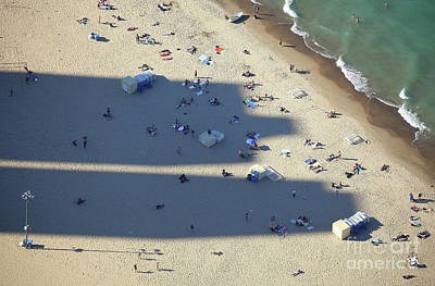 Photograph - Light And Shadows On The Beach by Holger Ostwald